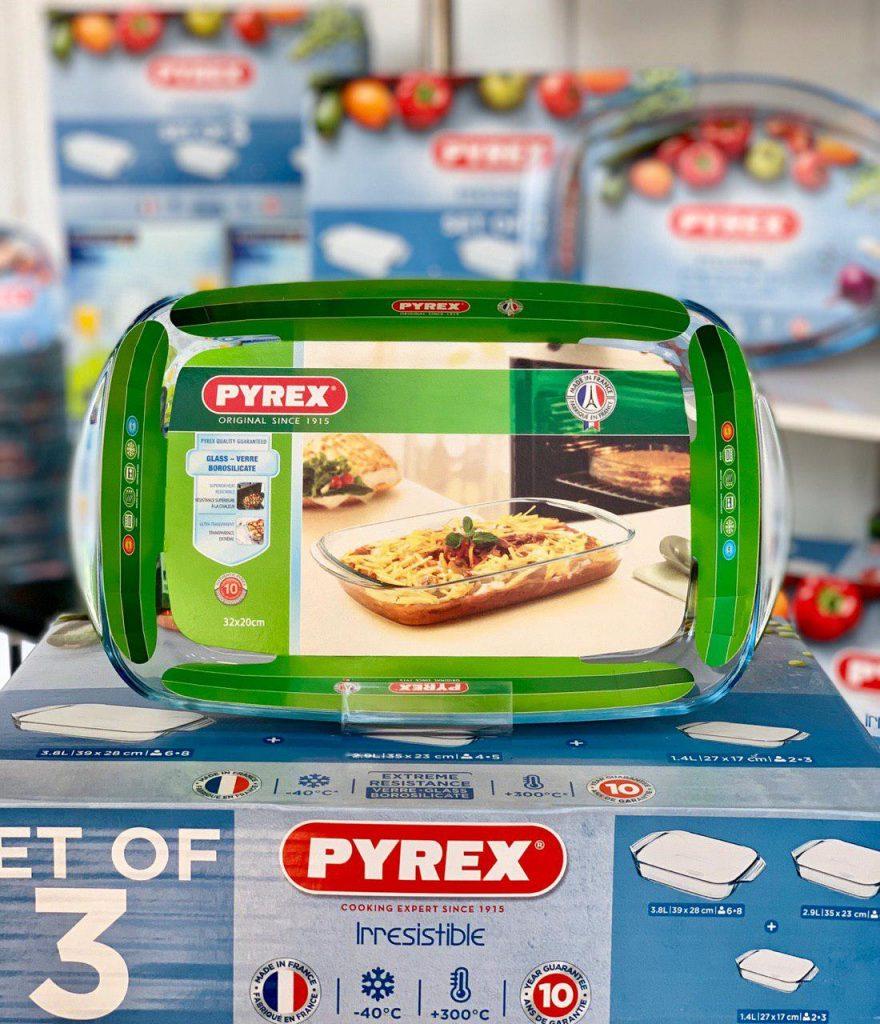 photo ۲۰۱۹ ۰۷ ۱۴ ۰۹ ۱۰ ۰۵ 880x1024 - تابه پیرکس فرانسه،مخصوص فر و مایکروویو وسرو غذا